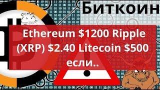 Биткоин против Альткоинов Ethereum $1200 Ripple (XRP) $2.40 Litecoin $500 если.. КриптоЗоопарк
