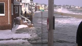 Winthrop January 2014 Storm - High Tide