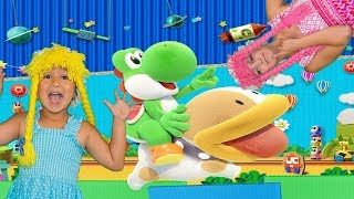 Yoshis crafted world review game play