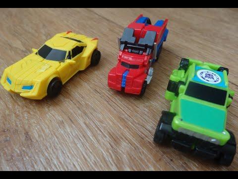 Спринглоад, Бамблби, Оптимус Прайм. Правильная сборка трансформеров Hasbro.