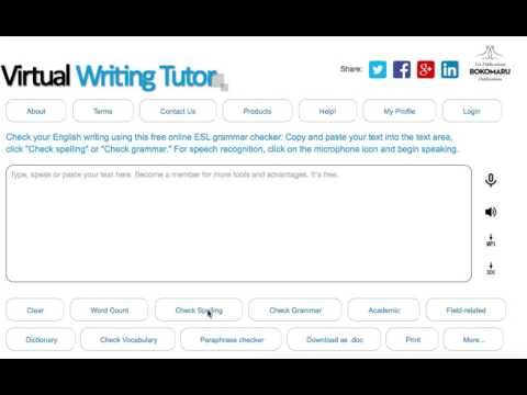 Dominique Virtual Writing Tutor tutorial