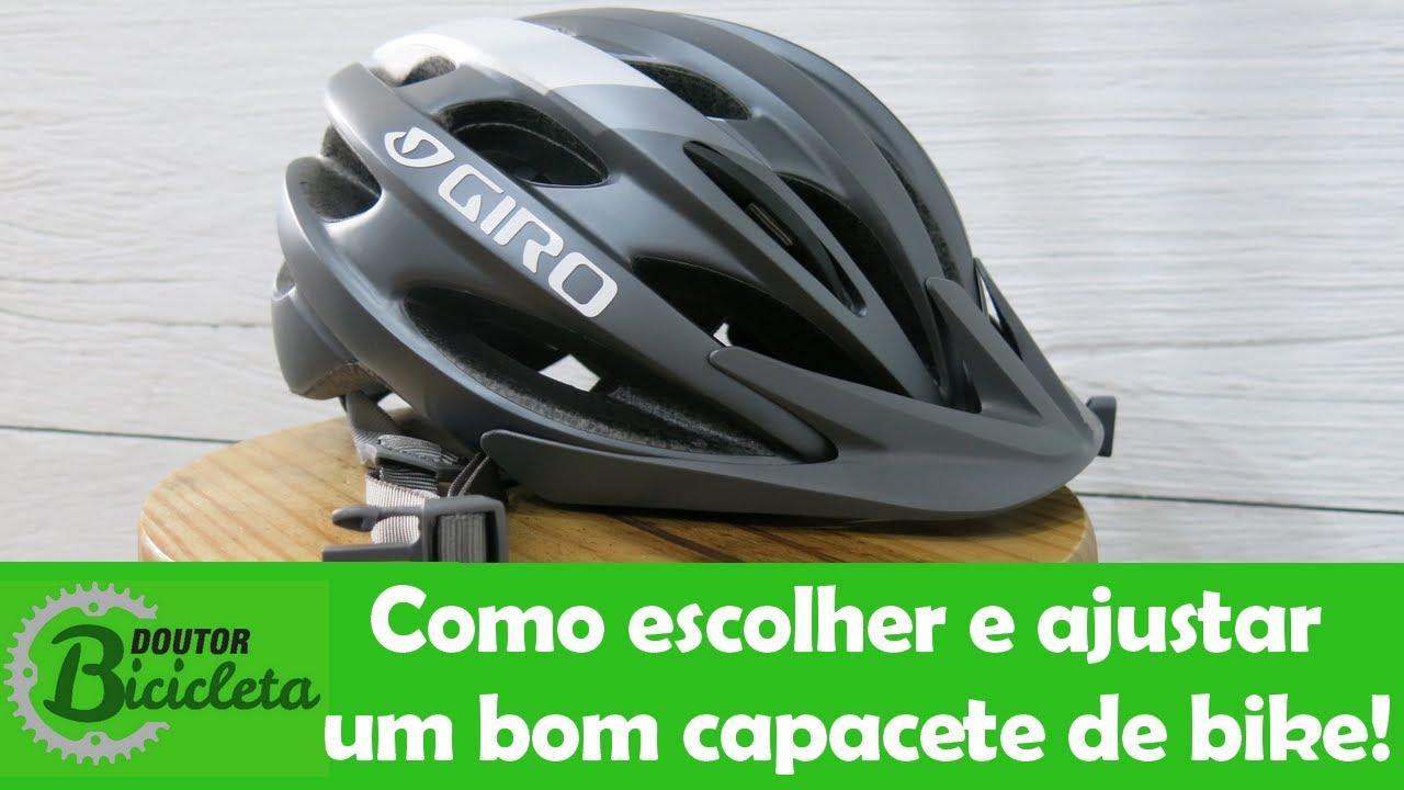 f427351db Como escolher um bom capacete de Mountain Bike e ajustá-lo corretamente