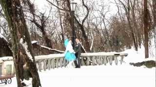 Свадебная видеосъемка в Таганроге зимой 2012 г.