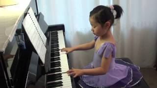 Ellie Dong (less than 5 year old) plays Intrada (AMEB Piano Grade 2)