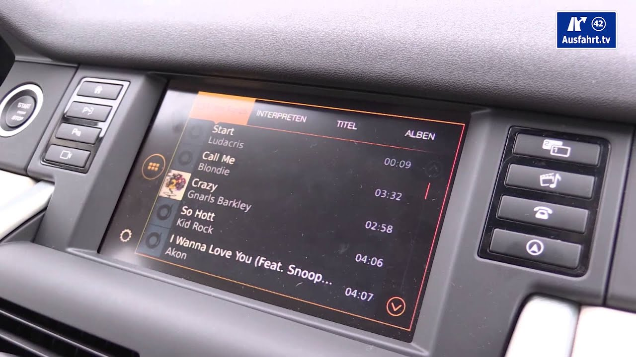Incontrol Land Rover >> Tech-CHECK : 2015 Land Rover Discovery Sport InControl APP und Infotainment System - YouTube