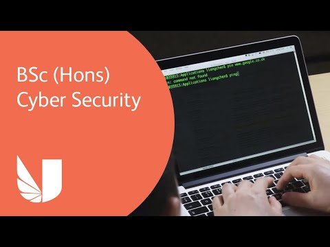 BSc (Hons) Cyber Security at the University of West London