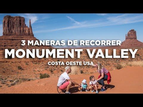 Cómo recorrer Monument Valley. Costa Oeste USA