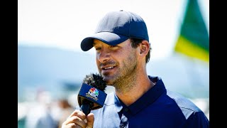 Here's What Tony Romo Told Will Zalatoris Before The Masters