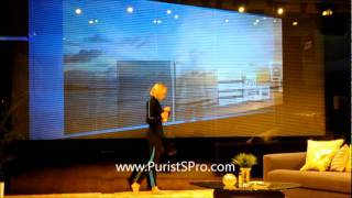 TOSHIBA Future Tech demo @ CES Consumer Electronics Show 2012 Las Vegas