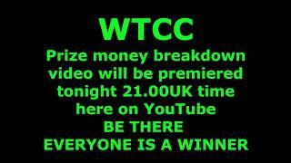 WTCC PRIZE MONEY TEASER