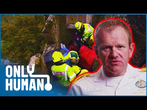 Rescuing A Woman From The Top Of A Medieval Castle | Paramedics Season 2 Episode One