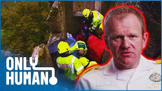 Rescuing a Woman from the Top of a Medieval Castle | Paramedics Episode 1 | Only Human