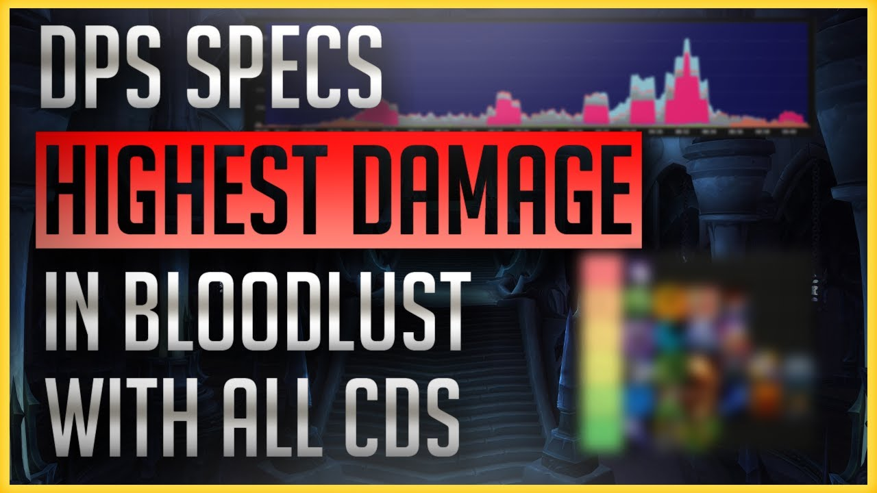 Bloodlust, CDs, Racial, Trinket, Potion: Which DPS will come out with the Highest Damage?