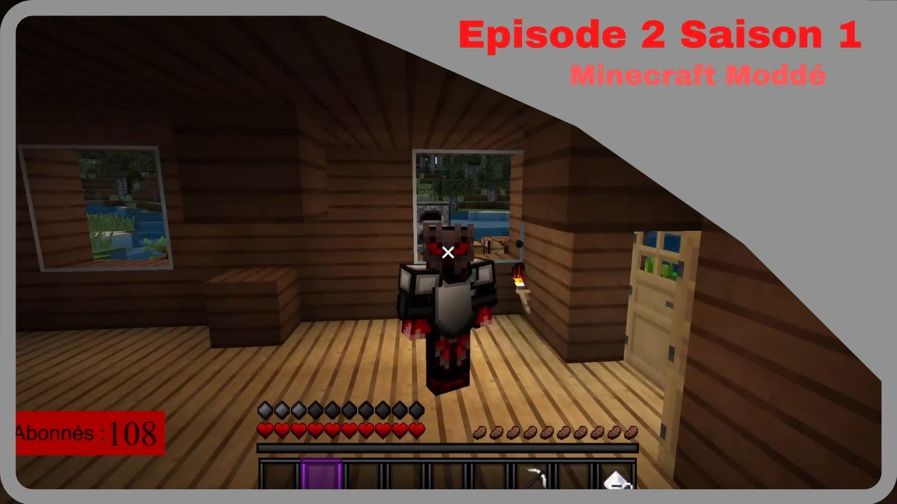 Episode 2 Saison 1 Lite 3 Minecraft Moddé !!!