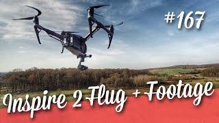 Dji Inspire 2 - Flug+Footage // Teil 2/2  // deutsch // in 4K // #167