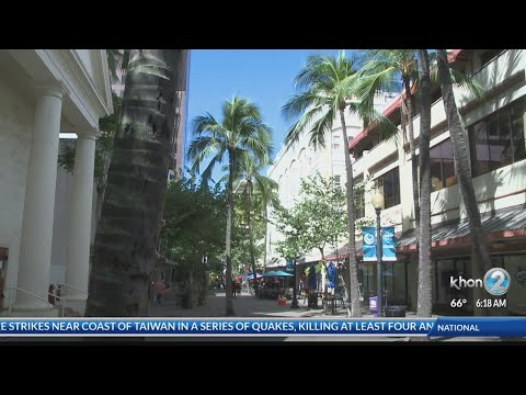Locations: Downtown Honolulu