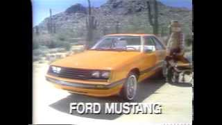 1980 Ford Mustang TV Ad Commercial (5 of 6)
