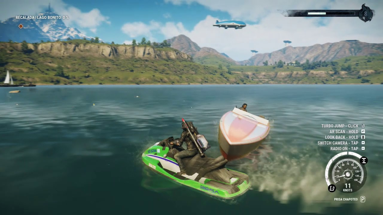 just cause 3 vs just cause 4 water - YouTube