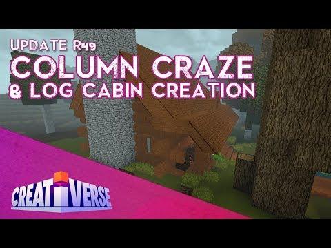 Creativerse: R49 Column Craze & Cozy Cabin Creation