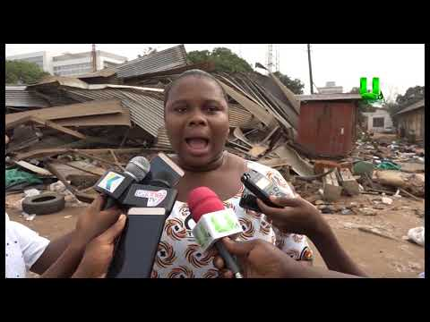 Transport Ministry demolishes illegal structures at Public Works Dep't