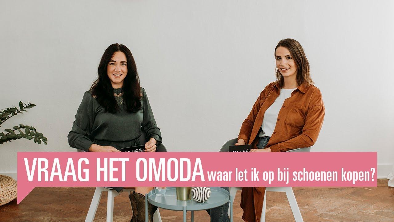 Vraag het Omoda | Waar moet je op letten als je nieuwe schoenen gaat kopen?