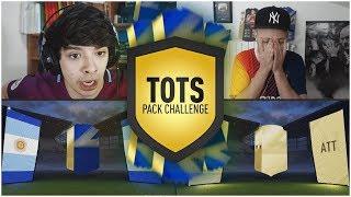 TOTS PACK CHALLENGE CON LA PREMIER LEAGUE wGAZ - FIFA 18