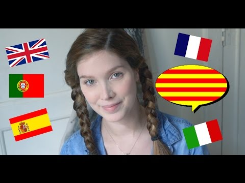 ASMR Francais- Italiano - English - Spanish -Portuguese - 1Hour Multilingual Catalan lesson