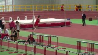 Mateusz Przybylko Hochsprung 2,05m Westdeutsche Hallenmeisterschaften 2010