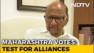 """Assembly Election 2019: """"No Question Of Being In Opposition"""": Sharad Pawar To NDTV On Voting Day"""