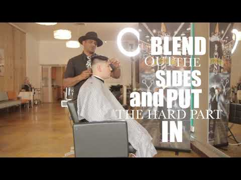 Mens Bald Fade By Ron Gillaspie