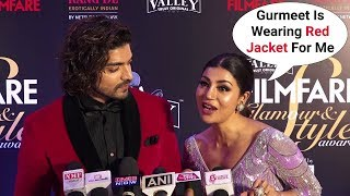 Debina Bonnerjee And Gurmeet Choudhary At Filmfare Glamour And Style Awards 2019