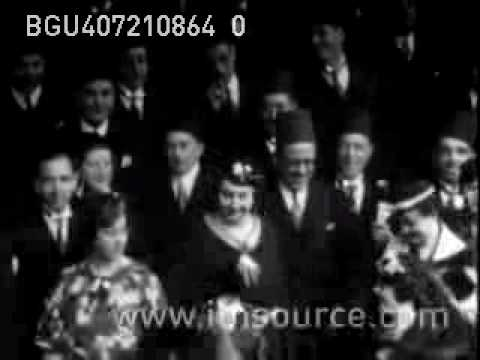 Egyptian-British treaty 1936  توقيع معاهده ١٩٣٦