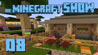 Die Minecraft Show #8 Sixtus Luxusvilla mit Gada Abstellkammer deutsch HD Lets Show