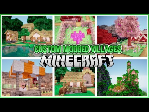 What If Modded Biomes Had Villages?