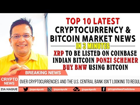 Xrp To Be Listed On Coinbase Indian Bitcoin Ponzi Schemer Amit -