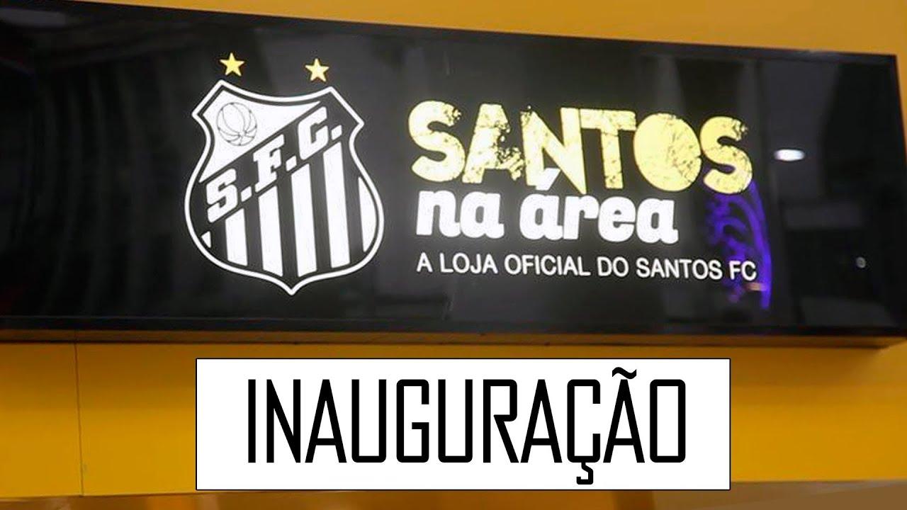 302dcf83a Santos FC inaugura sua primeira loja oficial no Gonzaga - YouTube