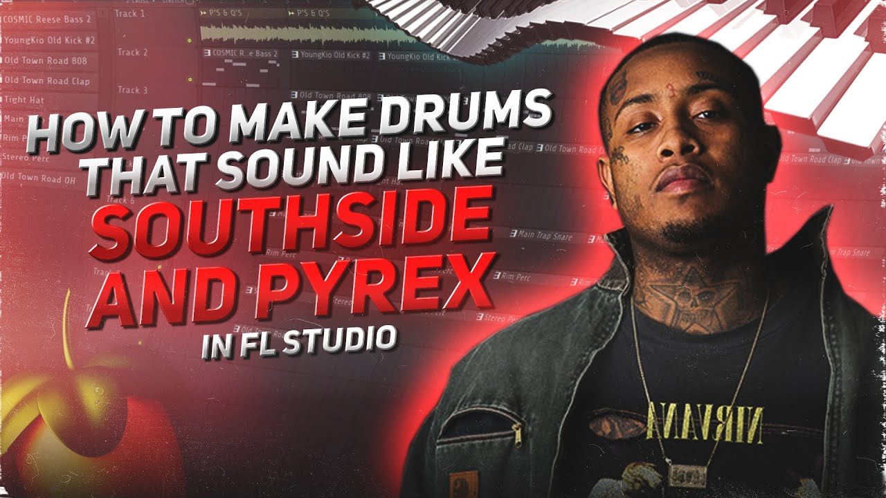 How SOUTHSIDE & PYREX WHIPPA make beats for LIL KEED | PROD