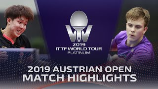 Владимир Сидоренко vs Wang Chuqin | Austrian Open 2019 (Pre)
