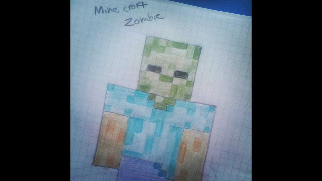 How To Draw: Minecraft Zombie