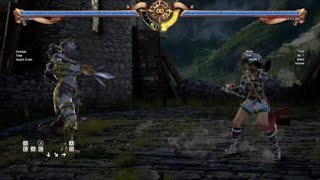 SOULCALIBUR™Ⅵ Voldo caliostro A+G back throw from front