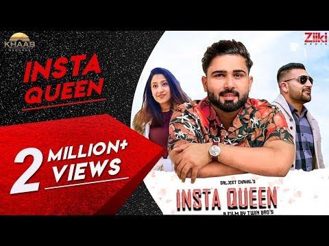 insta-queen---daljeet-chahal-|-jodhbir-chahal-|-new-romantic-song-2019