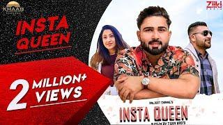 Insta Queen (Gallan Hass - Hass ) Daljeet Chahal | Jodhbir Chahal | New Romantic Song 2019