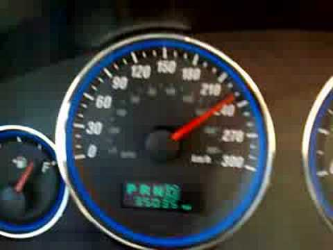 Jeep Grand Cherokee SRT8 - top speed - YouTube