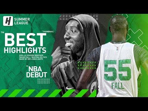 Tacko Fall NBA Debut BEST Highlights & Moments from 2019 NBA Summer League
