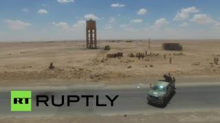 Сирийская армия взяла под контроль стратегически важный пункт на пути к Ракке