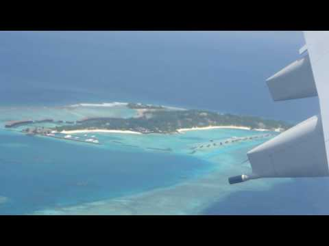 Landing at Male' Maldives Airport
