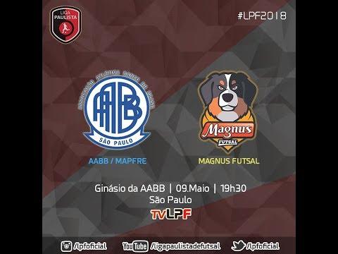 LPF2018 - AABB x MAGNUS FUTSAL