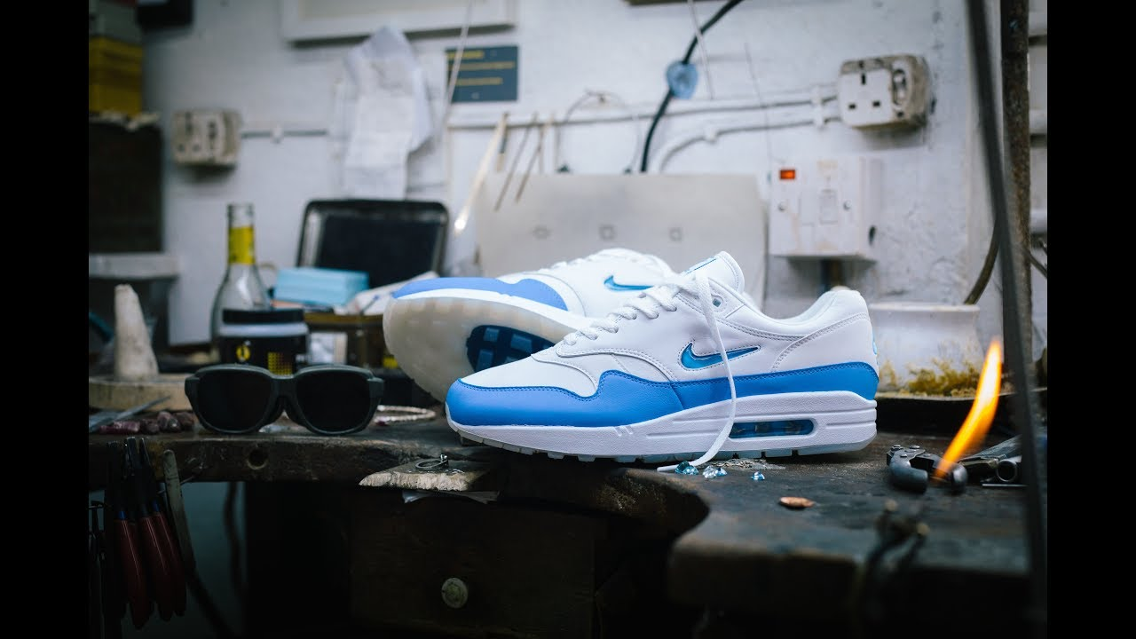 finest selection acdd7 65e68 Nike Air Max 1 Jewel University Blue: A Closer Look - The Drop Date