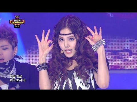 EvoL - Get Up, 이블 - 겟 업, Show champion 20130320