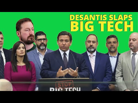 Gov. DeSantis SLAMS Big Tech Censorship: Signs Bill to STOP Deplatforming